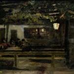Коровин В испанской таверне 1888 хм 38.8х53 ГТГ