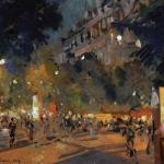 Коровин Итальянский бульвар Париж 1907