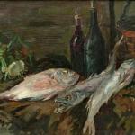 Коровин Натюрморт с рыбами 1930 хм Ярославский художественный музей