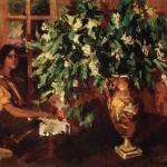 Коровин Череемуха 1912 хм Киевский национальный музей русского искусства