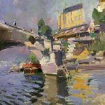 Коровин Мост в Сен-Клу 1936 1