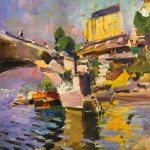 Коровин Мост в Сен-Клу 1936