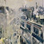 Коровин Париж утром 1906