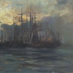 Коровин Порт в Марселе 1890е хм 51х71 ГТГ