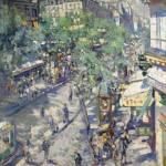 Коровин Севастопольский бульвар 1923
