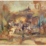 Коровин Осенний пейзаж 1927