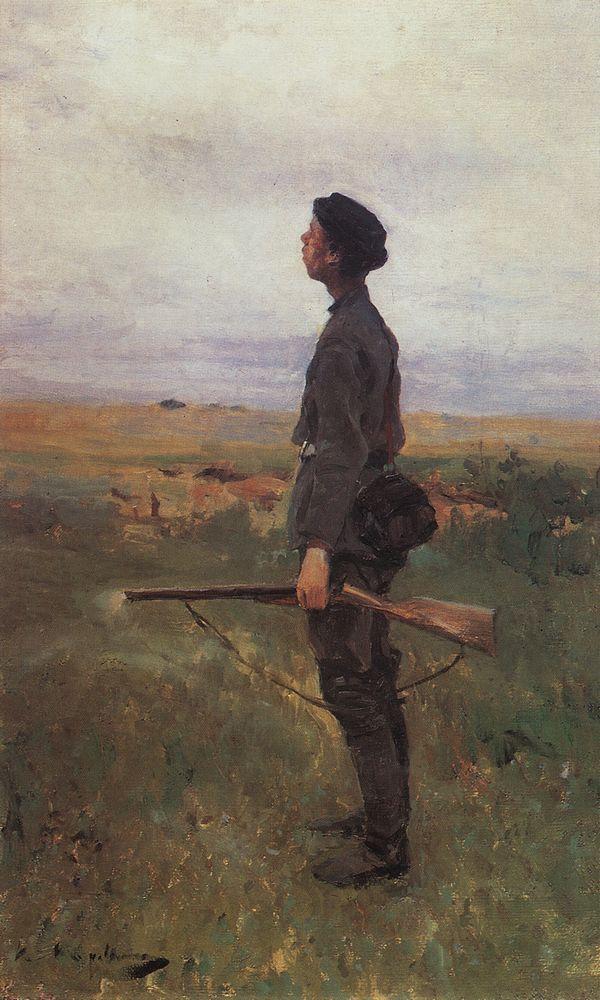 Коровин Неудача 1880е хм 53.5х35.6 ГТГ
