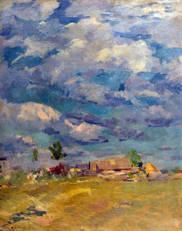 Коровин Облачное небо 1910