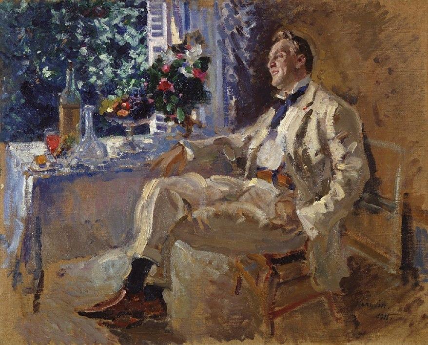 Коровин Портрет Ф Шаляпина 1911 хм 65х81 ГРМ