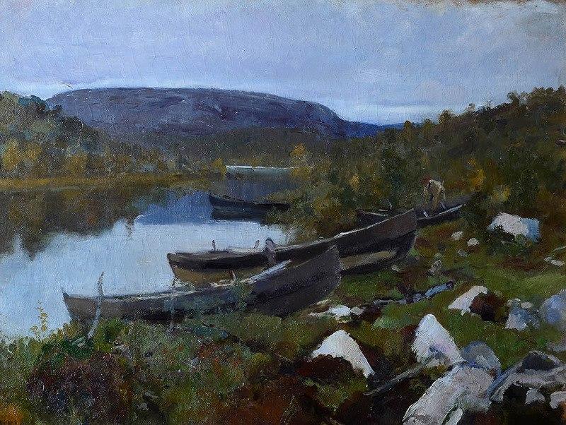 Коровин Ручей св Трифона в Печенге 1894 ГТГ