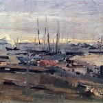 Коровин Архангельск 1897 дм 46.8х64 ГТГ