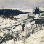 Коровин Зима 1911 хм 53.5х64 ГРМ