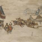 Коровин Зимний праздник