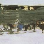 Коровин Север 1901 ба ГТГ