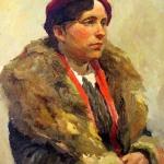Æåíñêèé ïîðòðåò. 193736õ51  ê.ì.