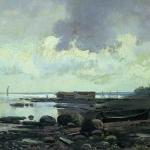 Берег Облачный день (Камни) 1867-1869 км 24х36 ГРМ