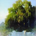 Березовая-роща-к-вечеру-1867-1869-хм-42х35