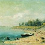 На берегу Волги 1870
