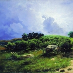 Перед грозой 1867-1869 хм 29х36 ГРМ