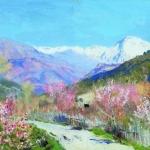Левитан ИИ  Весна В Италии 90хм19.5х32.5  Частное собрание