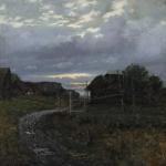 Левитан ИИ  Вечер 1877  хм 71.2х53.5 ГТГ