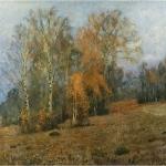 Левитан ИИ  Октябрь Осень 1891  хм 95х136  Самарский художественный музей