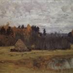 Левитан ИИ  Поздняя осень 1894-98  хм 59х91  ГРМ
