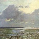 Левитан ИИ  Разлив 1895  б пастель 46х64  ГТГ