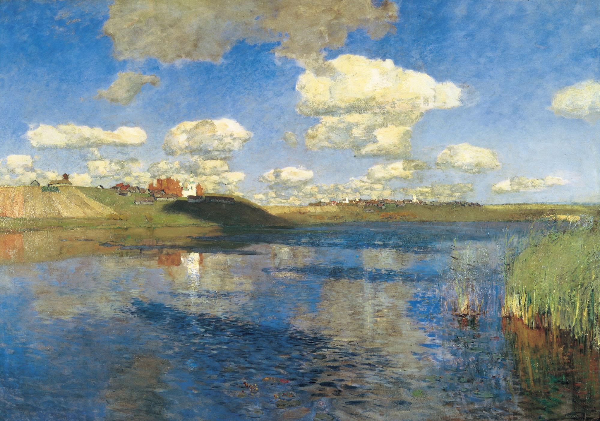 Левитан ИИ Озеро (Русь) 1899-1900 хм 149-208 ГРМ