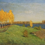 Левитан ИИ Золотая осень 1896 хкм 52х84.6 ГТГ