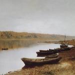 Левитан ИИ На Волге 1887-88 хм 57.8-88.7 ГТГ