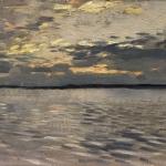 Левитан ИИ Озеро Вечер 1880е км 16х24 ГРМ