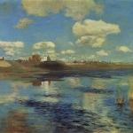 Левитан ИИ Озеро 1898-99 хм 26х34 ГТГ