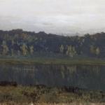 Левитан ИИ Осеннее утро Туман 1886-87 хм 43х74 ГТГ