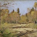 Левитан ИИ Осенний солнечный день 1897-98 11х18 ГТГ