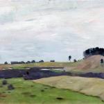 Левитан ИИ Поля 1899 км 58х89 Кировский областной художественный музей