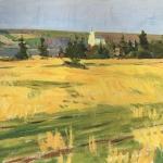 Левитан ИИ Рожь 1880е хм 36х53 Национальный художественный музей Латвии