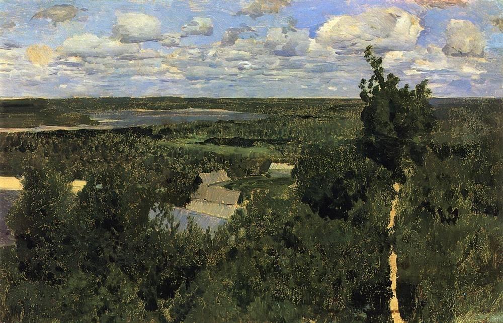 Левитан ИИ  Васильсурск 1887