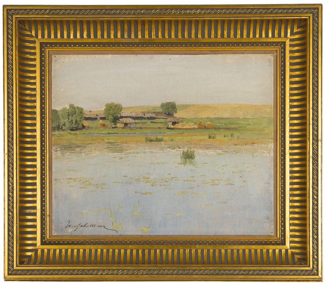 Левитан ИИ Саввинская слобода Звенигород 1883