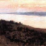 Левитан ИИ  Вечер Золотой плес 1889