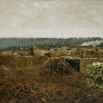 Левитан ИИ  Порубка 1898 хм 68х103  Нижегородский гос художественный музей а