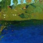 Левитан ИИ  Озеро Осень Конец 1890х  хм Частное собрание