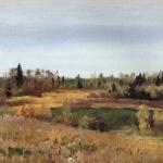 Левитан ИИ  Осень 1890е  хм 39х49  Ивановский х м