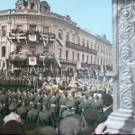 F. Kr√°tkňė: Dvorn√≠ ceremon√°Ô¨Ā Korunova√£n√≠ pr√õvod Alexandra II., 1896