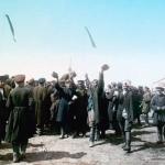 F. Kr√°tkňė: Hur√° carovi Chodinsk√© pole, 30. 5. 1896