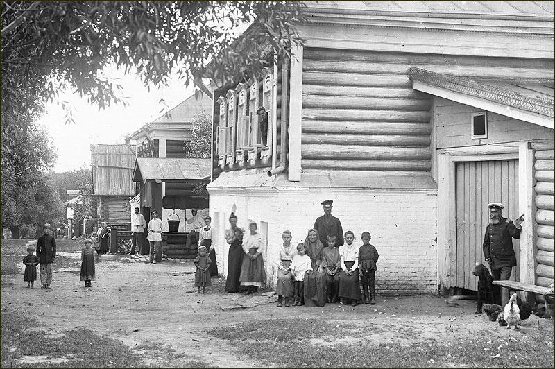 нижегородск губ  богатое село под афонино