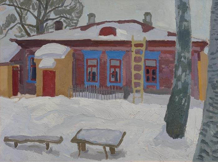 Попков Дом в Переславле 1963 км 53х70