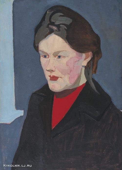 Попков Женский портрет 1963