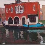 Попков Венеция Красный дом 1960