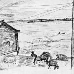 Попков Деревня Целегор 1966
